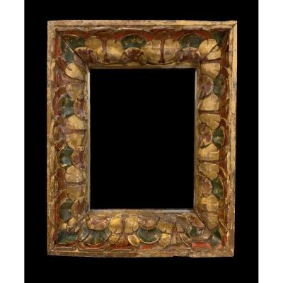 Magnificent Carved Wood Frame - Spain, XVII