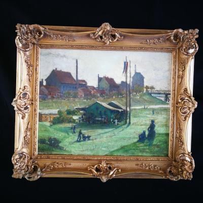 Rouen Raymond Quibel Quartier De Bonsecours 1903