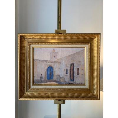 Rare Orientalist Painting Signed Alexandre Roubtzoff.