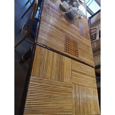 Table Longue En Rotin Et Bambou