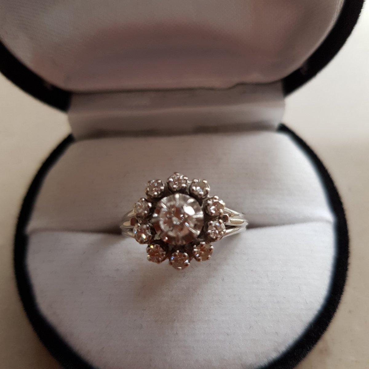 Bague Or Et Diamants
