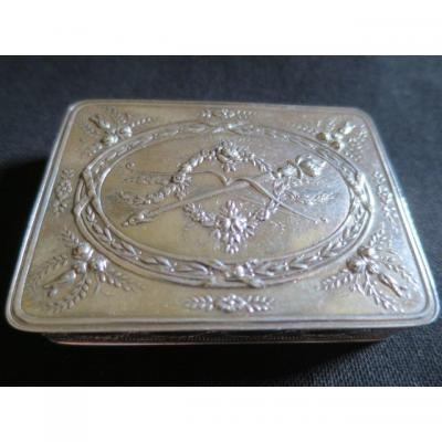 Solid Silver Poudrier
