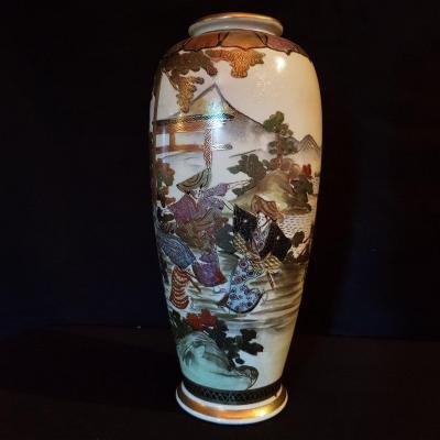 Satsuma Vase Meiji Period