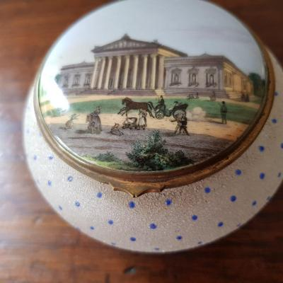 Candy Box Decorated With A Miniature.
