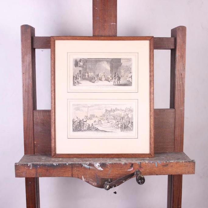 Deux Gravures Jacques Callot