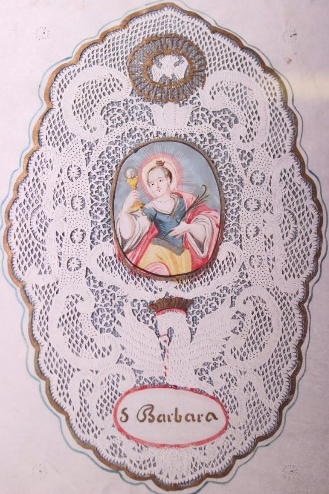 Canivet XVIIIème Ste Barbara