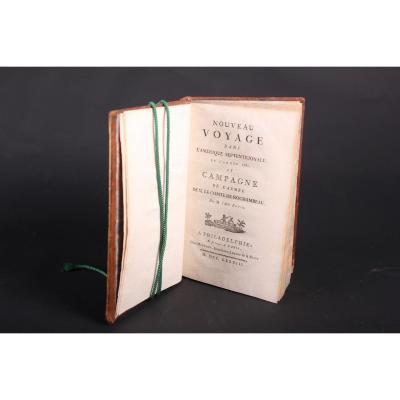 Livre Nouveau Voyage Dans l'Amérique Septentrionale En 1781 Par l'Abbé Robin