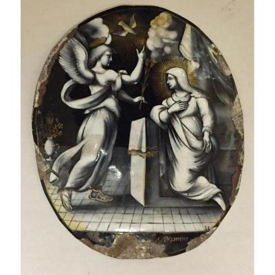 Email From Limoges: Annunciation By Laudin