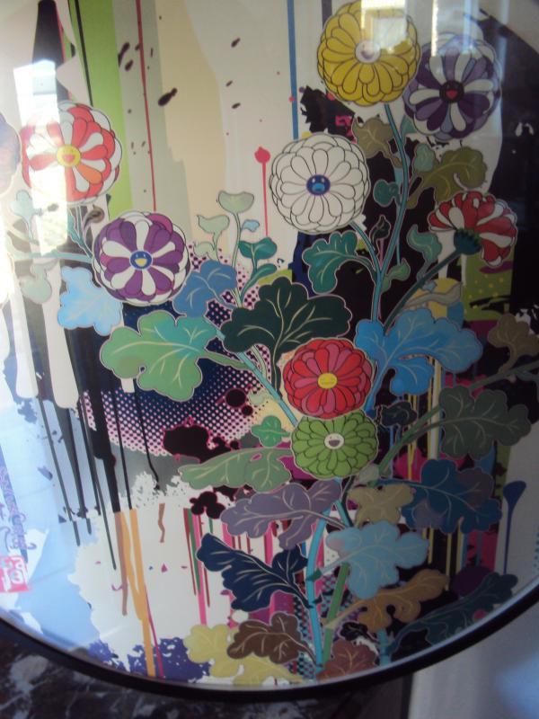 Murakami Takashi Estampe - Offset Lithographie Couleurs-photo-3