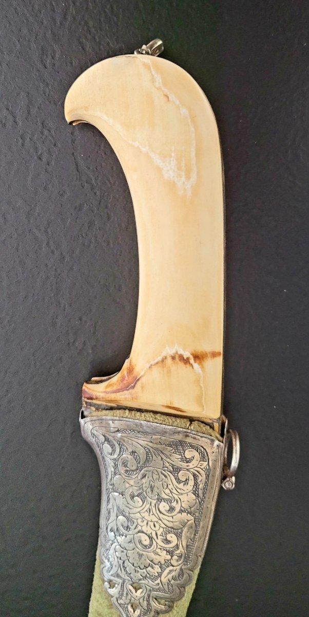 Un Pesh Kabz Incrusté d'Or Persan-photo-4
