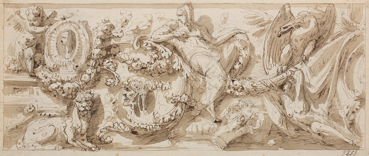 Giuseppe Bernardino Bison (1762 – 1844) : Frise Décorative