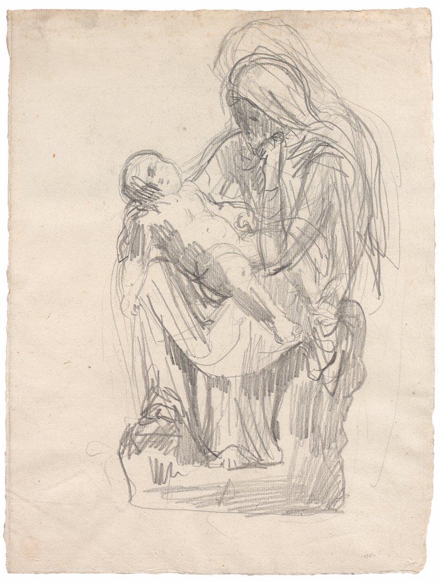 Henri Michel Antoine Chapu: Mother And Child