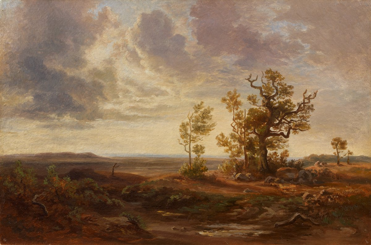French Or German School Of The XIXth Century - Landscape