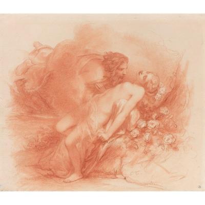 Octave Nicolas François Tassaert: Jupiter And Io