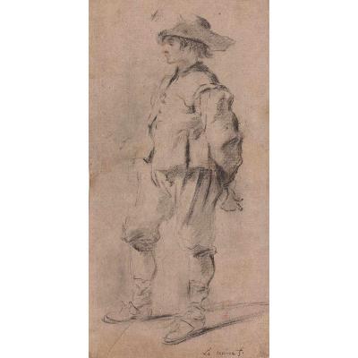 Jérôme François Chantereau - Study Of A Standing Soldier