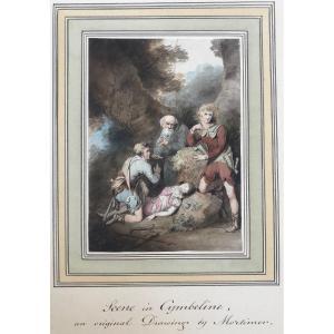 John Hamilton Mortimer (1741-1779) : Scène De Cymbeline