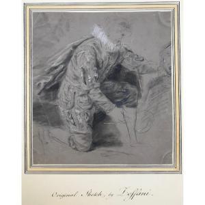 Johan Joseph Zoffany (1733-1810) : Étude De Costume
