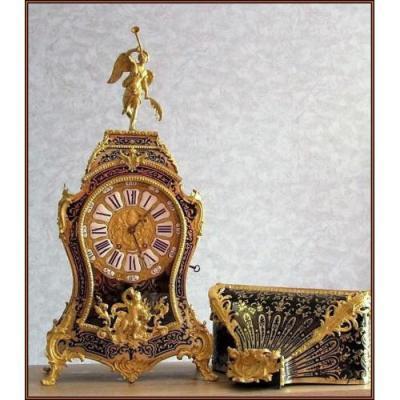 Cartel Napoléon III Pendule