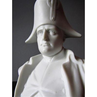 Buste En  Biscuit  De Napoléon Bonaparte