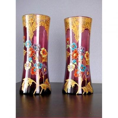 Vase Legras  Art Nouveau