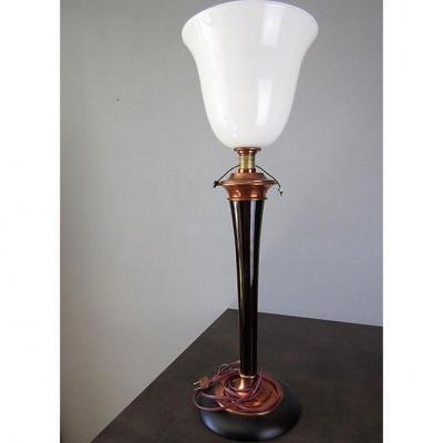 Mazda Art Deco Lamp H 77 Cm