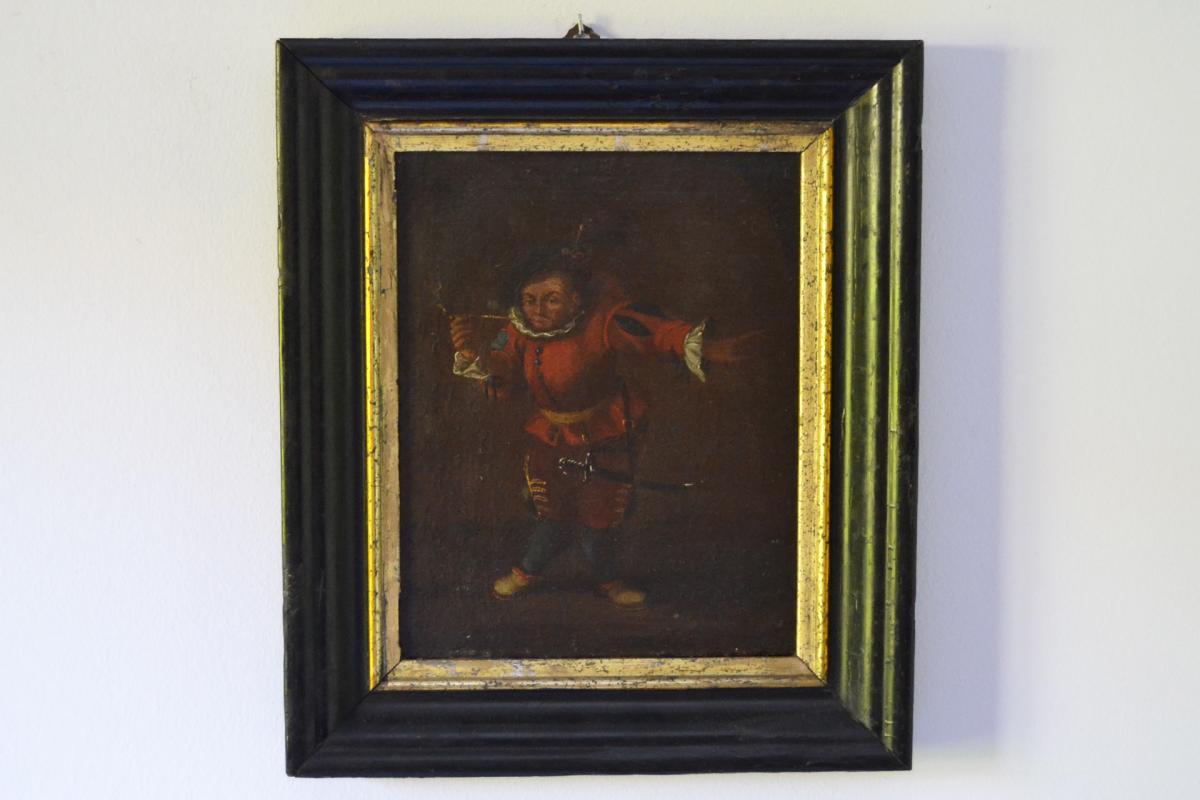 Cercle de Faustino Bocchi (1659 - 1741), figure grotesque