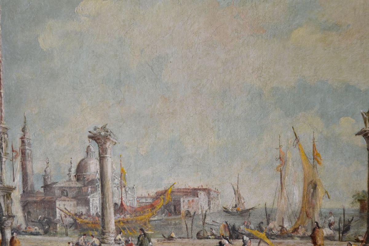 Lucia Ponga Degli Ancillo (1887-1966) Vue De La Place Saint-marc à Venise