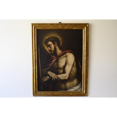 "Cercle De Andrea Meldolla ""Schiavone"", Ecce Homo XVI siècle"