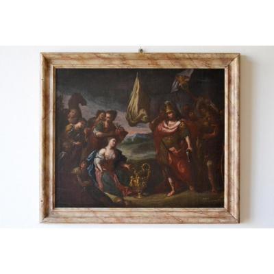 Giovanni Camillo Sagrestani (florence, 1660 - 1731) Cercle De, La Benevolence De Scipione