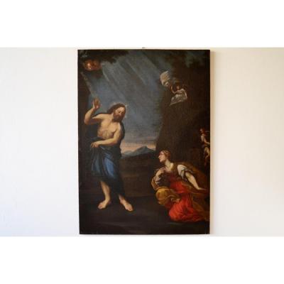 Francesco Albani (Bologne, 1578 - Bologne, 1660) Cercle De, Noli Me Tangere