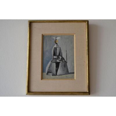 Duilio Barnabè (Bologna 1914-1961 French Alps), Une Nonne