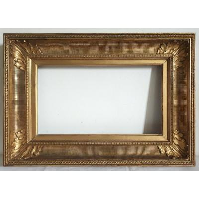 Gilded Wood Channel Frame 19th Century