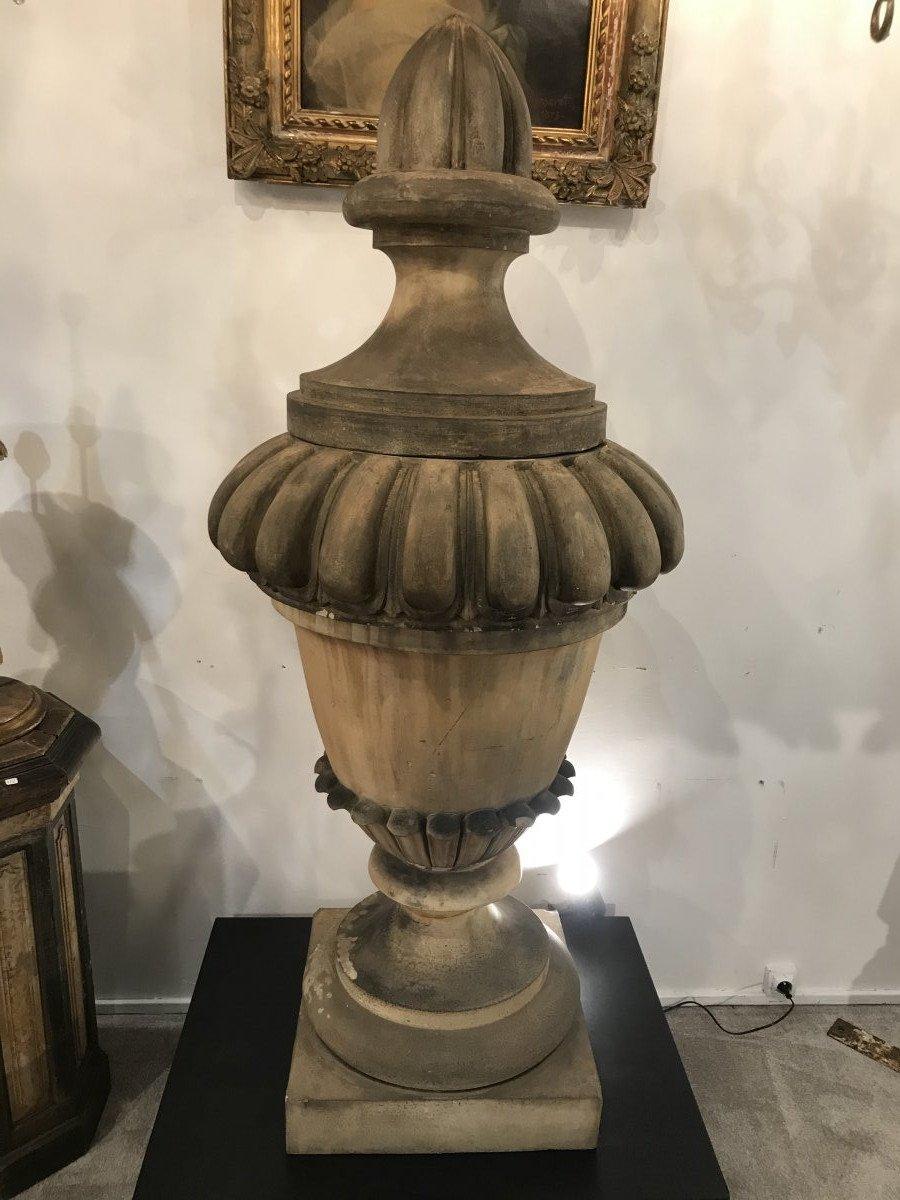 Terracotta Garden Vase