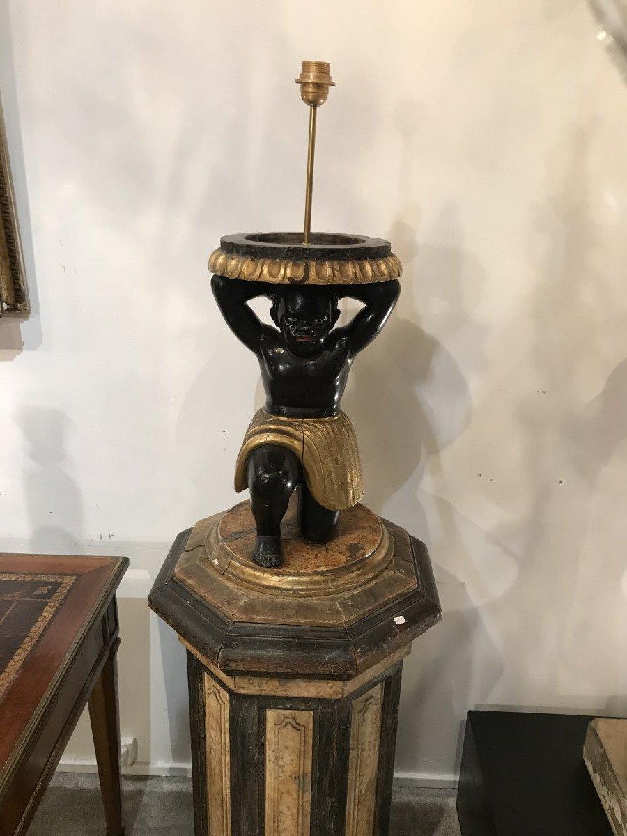 Paire De Torchère Nubien  D'époque Napoléon III