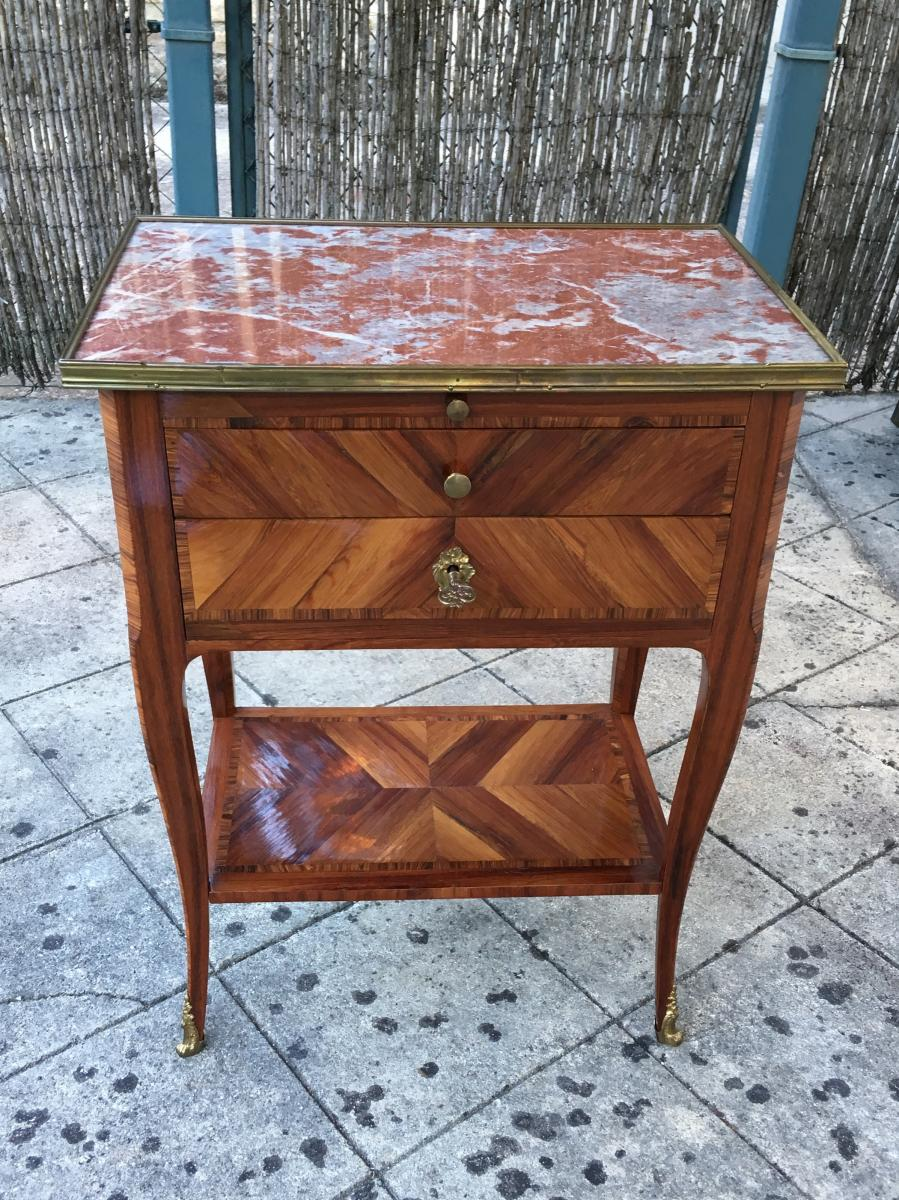 Table de salon estampillée de P.ROUSSEL