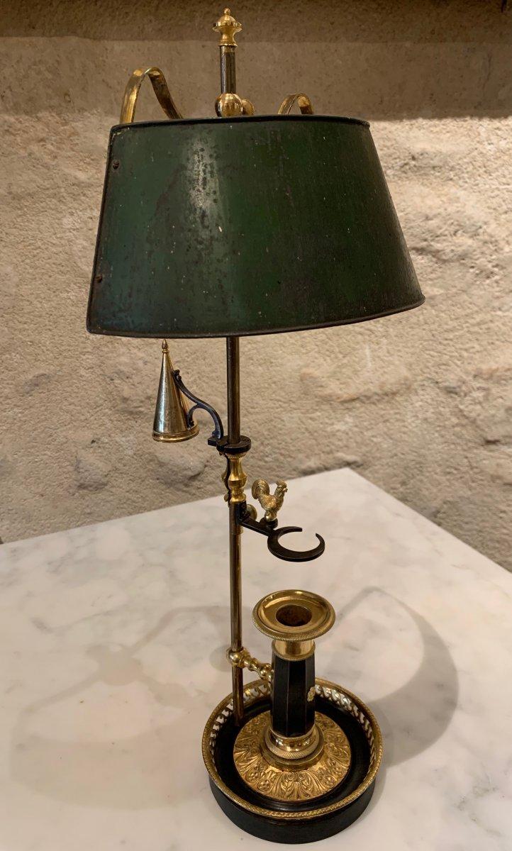 Lampe Bouillotte Au Coq
