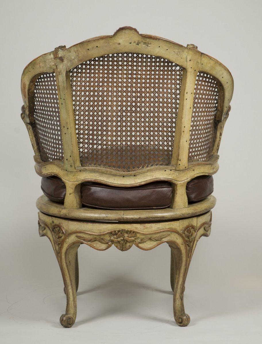 Fauteuil De Bureau Louis XV-photo-1