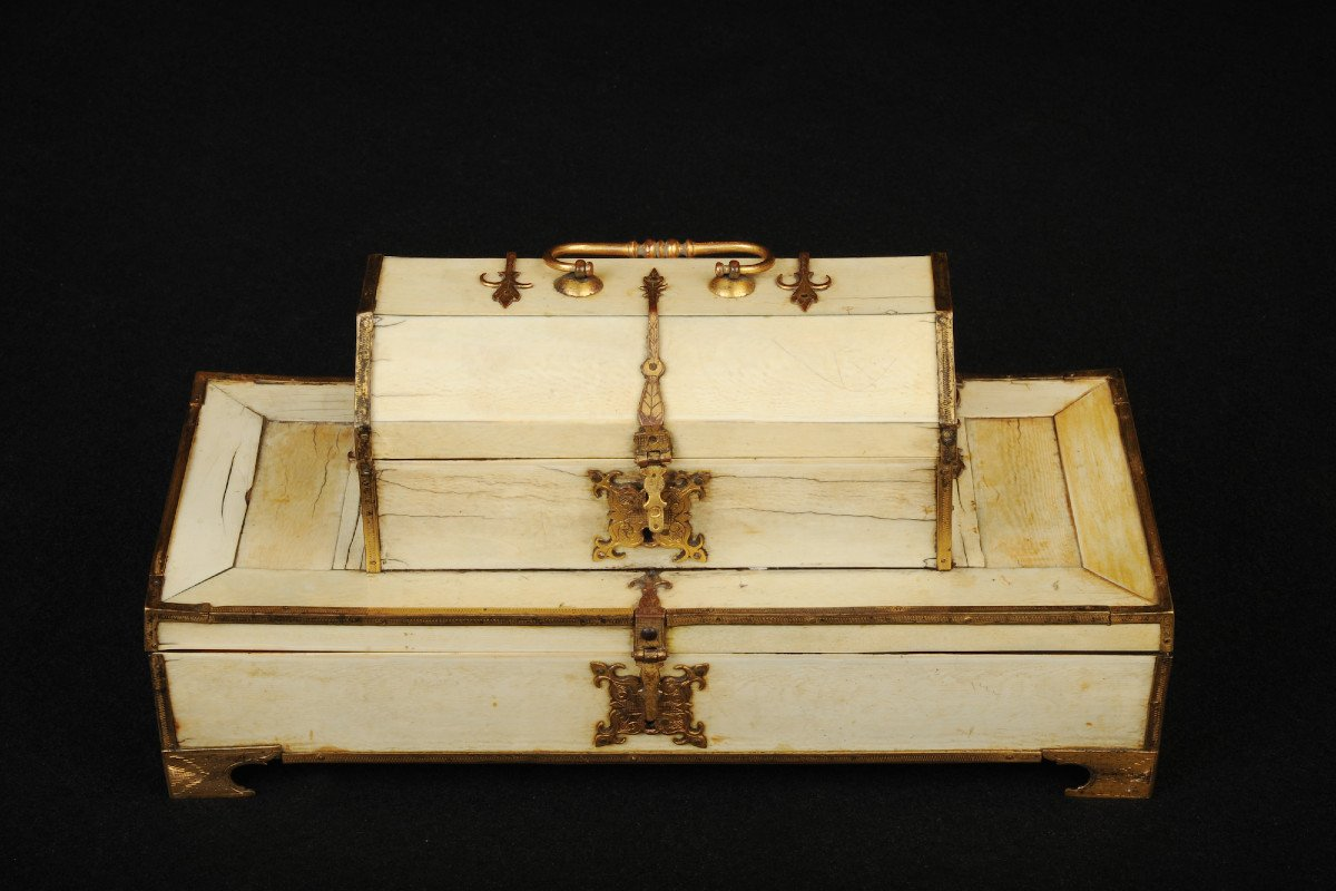 Double Ivory Box From The Beginning Of The 16th Century