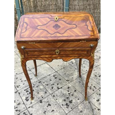 "Louis XV ""dos d'âne"" Desk Stamped Migeon"
