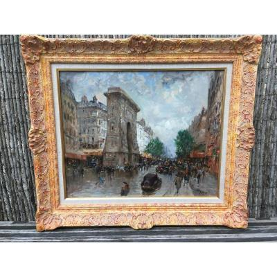 La Porte Saint Denis à Paris De Malfroy