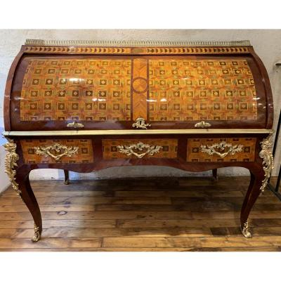 Louis XV Cylinder Desk