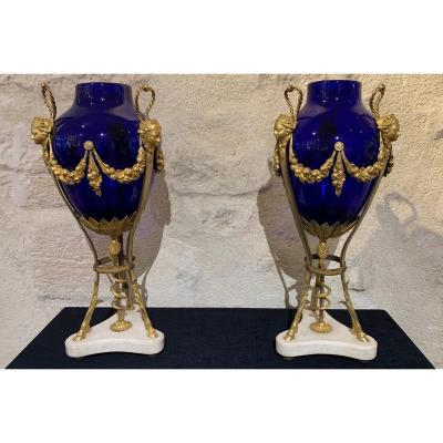 Pair Of Louis XVI Vases