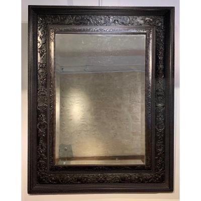 Miroir en ébène Louis XIII