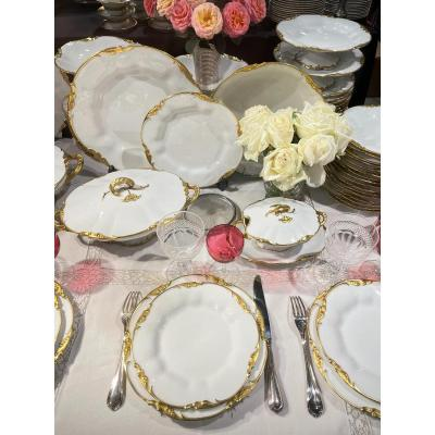 Service Porcelaine De Jean Pouyat(limoges)