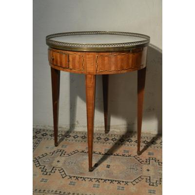 Table Bouillote Fin XVIIIème Début XIXème