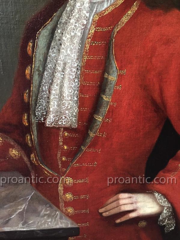 In Luxurious Noble Piedmontese Habit Rouge. Louis XV, XVIII.