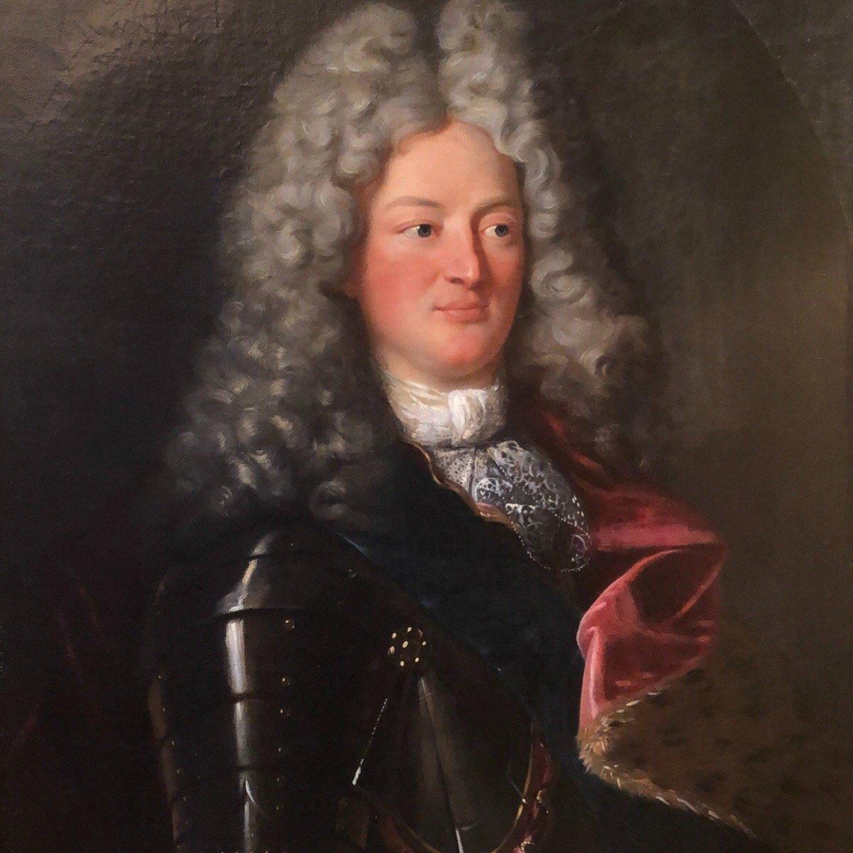 Louis de Bourbon, fils de Louis XIV et Madame de Montespan vers 1708. Epoque XVIIIè