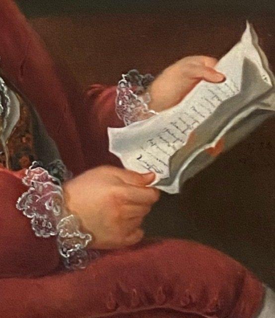 Lettré à sa dépêche , 1784, Signé. XVIIIè-photo-3