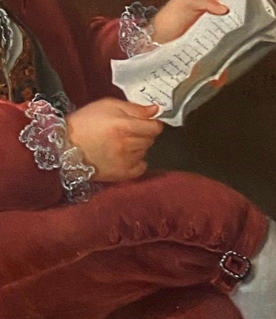 Lettré à sa dépêche , 1784, Signé. XVIIIè-photo-1