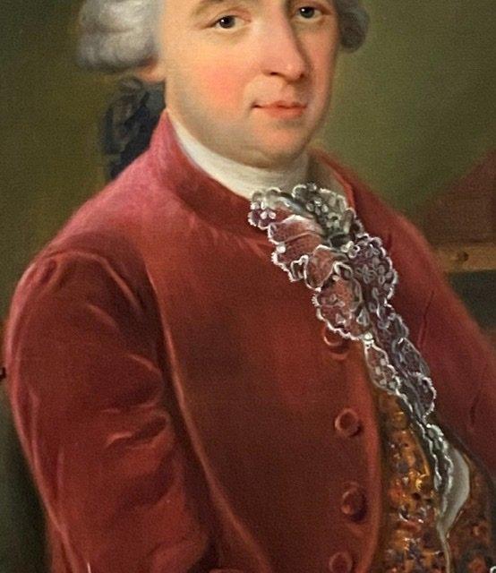 Lettré à sa dépêche , 1784, Signé. XVIIIè-photo-2